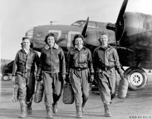 Women B-17 pilots