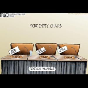 The empty chairs