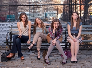 Allison Williams, Jemima Kirke, Lena Dunham, Zosia Mamet. Photo by Mark Seliger