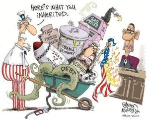 An inherited mess