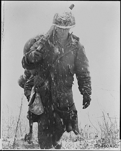 Korean War soldier