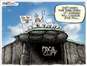 Leading the sheep