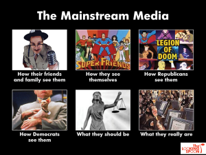 The real mainstream media