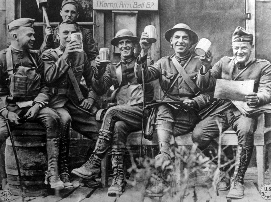soldiers in world war i and