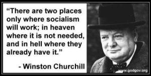 Churchill-socialism