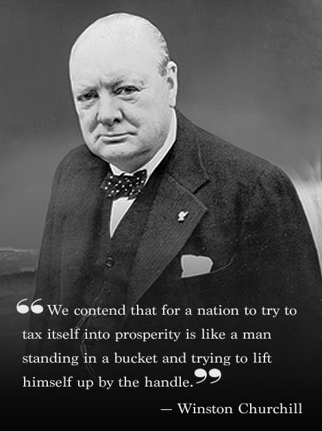 Churchill on prosperity
