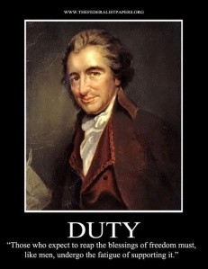 Thomas Paine ~ duty