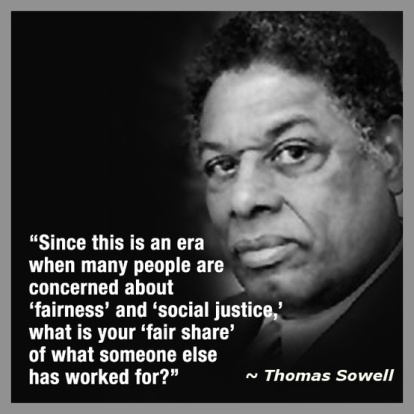Sowell on fairness