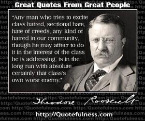 T. Roosevelt ~identity politics