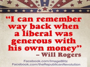 Wil Rogers on liberals