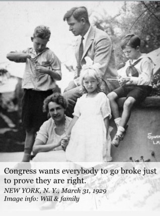 Will Rogers on Congress