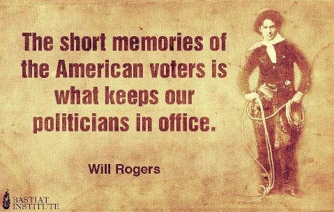 Will Rogers on American voters