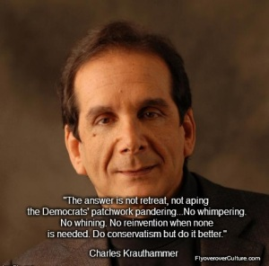 Charles Krauthammer - Doing Conservatism Right