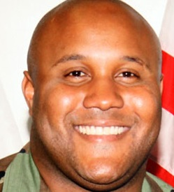 The killer: Christopher Dorner