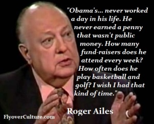 Roger Ailes: Obama's work ethic