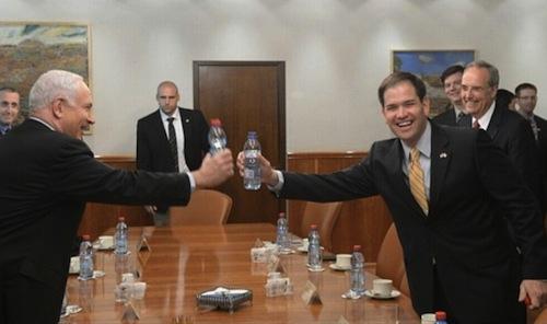 Marco Rubio/Benjamin Netanyahu