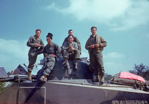 D-Day: American soldiers