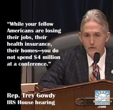 Rep. Trey Gowdy: IRS House hearing