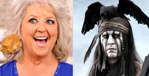 Paula Deen/Johnny Depp at Tonto