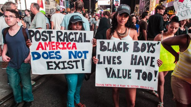 New York Zimmerman protest