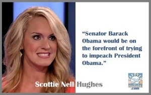 Scottie Nell Hughes ~ Obama