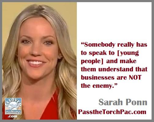 Sarah Ponn ~ PasstheTorchPAC.com
