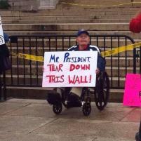 Mr. President: TEAR DOWN THIS WALL!