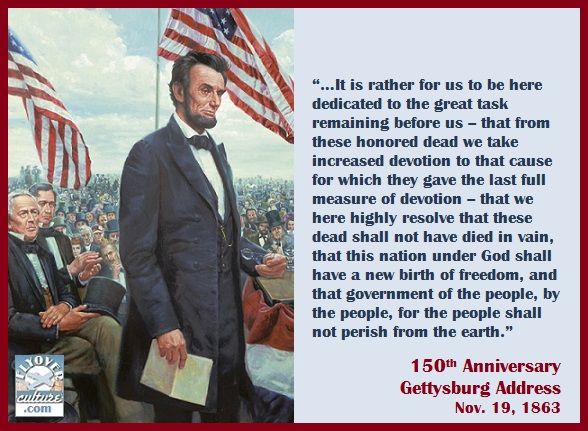 essay about abraham lincoln the gettysburg address