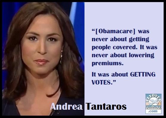 Andrea Tantaros ~ Obamacare