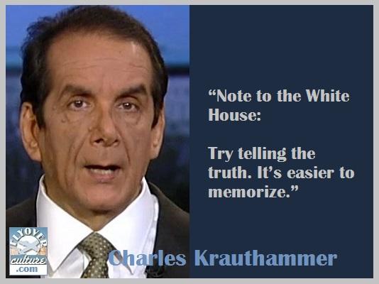 Charles Krauthammer ~ Lying President