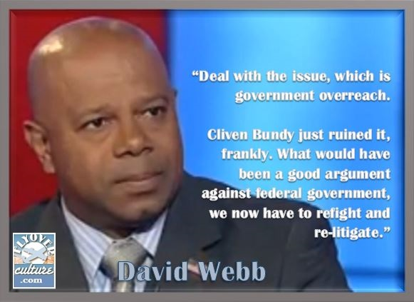 David Webb ~ Cliven Bundy