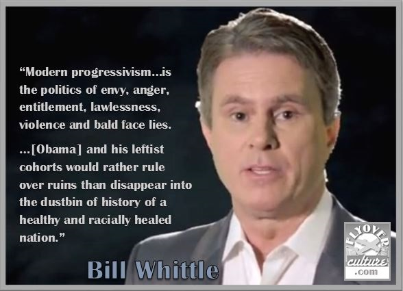 Bill Whittle ~ Obama's Progressivism
