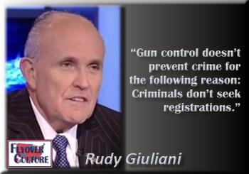 Rudy Giuliani: Gun Control
